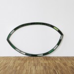 Hoop Eye Leaf, 2012, glass, lead 98.5cm x 55.5cm, dOCUMENTA (13)