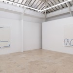 Blue Line Paintings, Installation view, Gaudel de Stampa, March 2015
