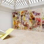 Painting Sculpture Sound, Installation view, Gaudel de Stampa, Paris, Sept. 2015