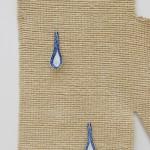 Estate (detail), 2015, Rug, ceramic spoons, 180 x 120 cm