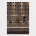 Sans titre, 2019, Oil on wood, 30 × 21 cm