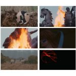 Boudica 2014 - sequence of film stills.