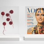 Cherries and Boulting, Vogue 1970s, dyptich, 2015