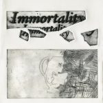 Immortality, 2016, Etching on zinc and laser engraving on plexiglass, 30 x 20 cm