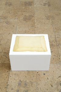 Sculpture en mousse, 2021, wood, polyethylene foam, 32 x 52 x 42 cm